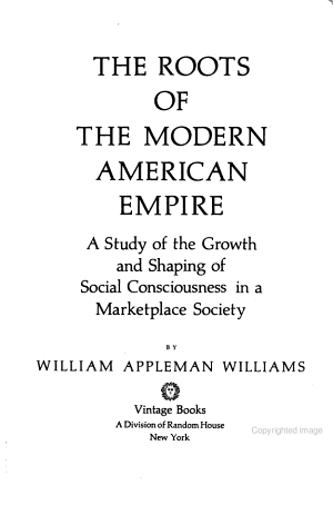 The Roots of the Modern American Empire PDF