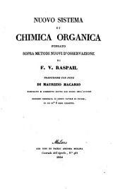 Nuovo sistema di Chimica organica fondato sopra metodi nuovi d'osservazione. Traduzione ... Ed. Corredata etc