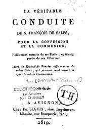La véritable conduite de S. François de Sales, pour la confession et la communion