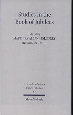 Studies in the Book of Jubilees PDF