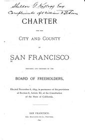 Charter for the City and County of San Francisco