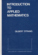 Introduction to Applied Mathematics PDF