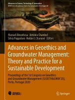 Advances in Geoethics and Groundwater Management   Theory and Practice for a Sustainable Development PDF