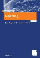 Marketing: Grundlagen für Studium und Praxis, Ausgabe 6
