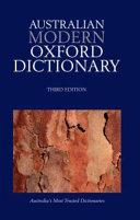 Australian Modern Oxford Dictionary