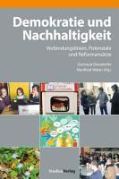 Demokratie und Nachhaltigkeit PDF