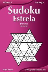 Sudoku Estrela - Extremo - Volume 5 - 276 Jogos