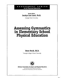 Assessing Gymnastics in Elementary School Physical Education PDF