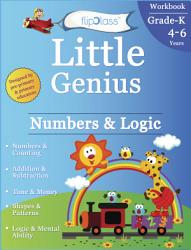Numbers   Logic  Kindergarten Workbook  Little Genius Series  PDF