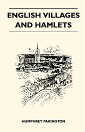 English Villages And Hamlets