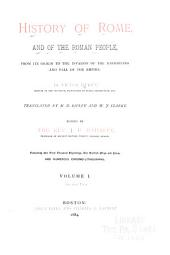 History of Rome and the Roman People: From Its Origin to the Establishment of the Christian Empire, Volume 1, Part 2