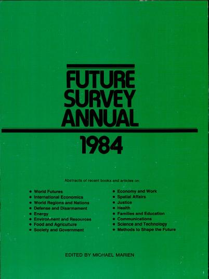 Future Survey Annual 1984 PDF