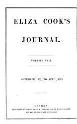 Eliza Cook S Journal Book PDF