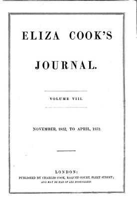 Eliza Cook s Journal PDF