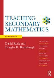 Teaching Secondary Mathematics PDF