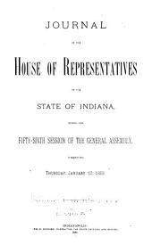 Journal of the House of Representatives of the State of Indiana at Their ... Session: Volume 2