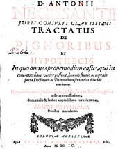 Tractatus de pignoribus et hypothecis
