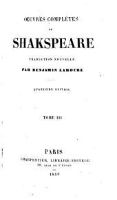 Oeuvres complètes de Shakspeare