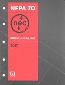 National Electrical Code 2017 Book