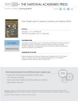 How People Learn II PDF