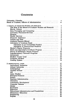 Graduate School Catalog PDF