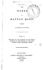 The works of Hannah More: Volume 5