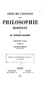 Histoire de la philosophie morale au XVIIIe siècle. École sensualiste