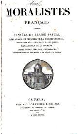 Moralistes français: Pensées