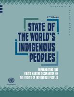 State of the World s Indigenous Peoples PDF