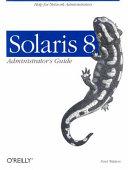 Solaris 8 Administrator's Guide