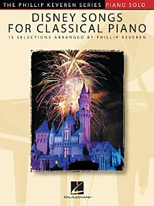 Disney Songs for Classical Piano Book