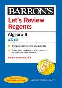 Let s Review Regents  Algebra II 2020