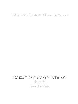 Great Smoky Mountains National Park  Tennessee North Carolina PDF