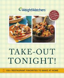 Weight Watchers Take Out Tonight  Book PDF
