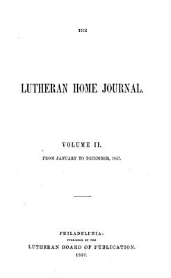 The Lutheran Home Journal PDF