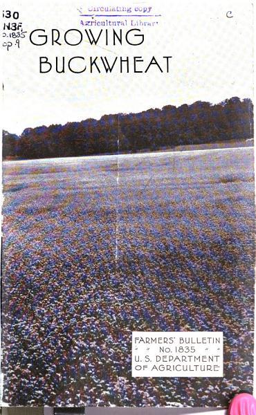 Download Growing Buckwheat Book