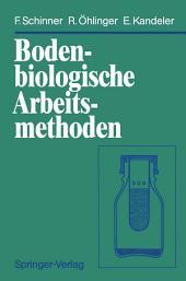 Bodenbiologische Arbeitsmethoden