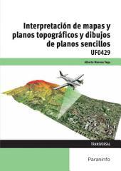 UF0429 - Interpretación de mapas y planos topográficos y dibujo de planos sencillos
