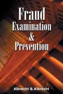 Fraud Examination Prevention Book PDF