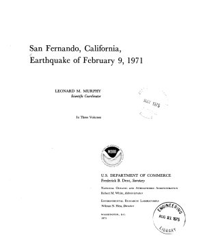 San Fernando  California  Earthquake of February 9  1971  Effects on building structures  pt  A  Introduction  Buildings  pt  B  Buildings  continued  Soils and foundations PDF