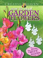 Creative Haven How to Draw Garden Flowers