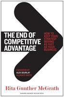 The End of Competitive Advantage PDF