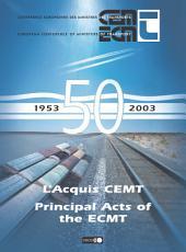 Principal Acts of the ECMT 1953-2003