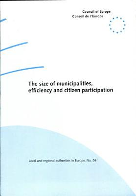 The Size of Municipalities  Efficiency and Citizen Participation