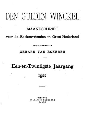 Den Gulden winckel PDF