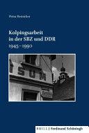 Kolpingsarbeit in der SBZ und DDR 1945 1990 PDF