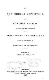 Anglo-American New Church Repository and Monthly Review: 1851-Feb., 1854, Volume 1