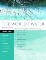 The World s Water 2006 2007 PDF