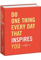 Do One Thing Every Day That Inspires You PDF