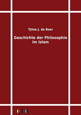 Geschichte der Philosophie im Islam PDF